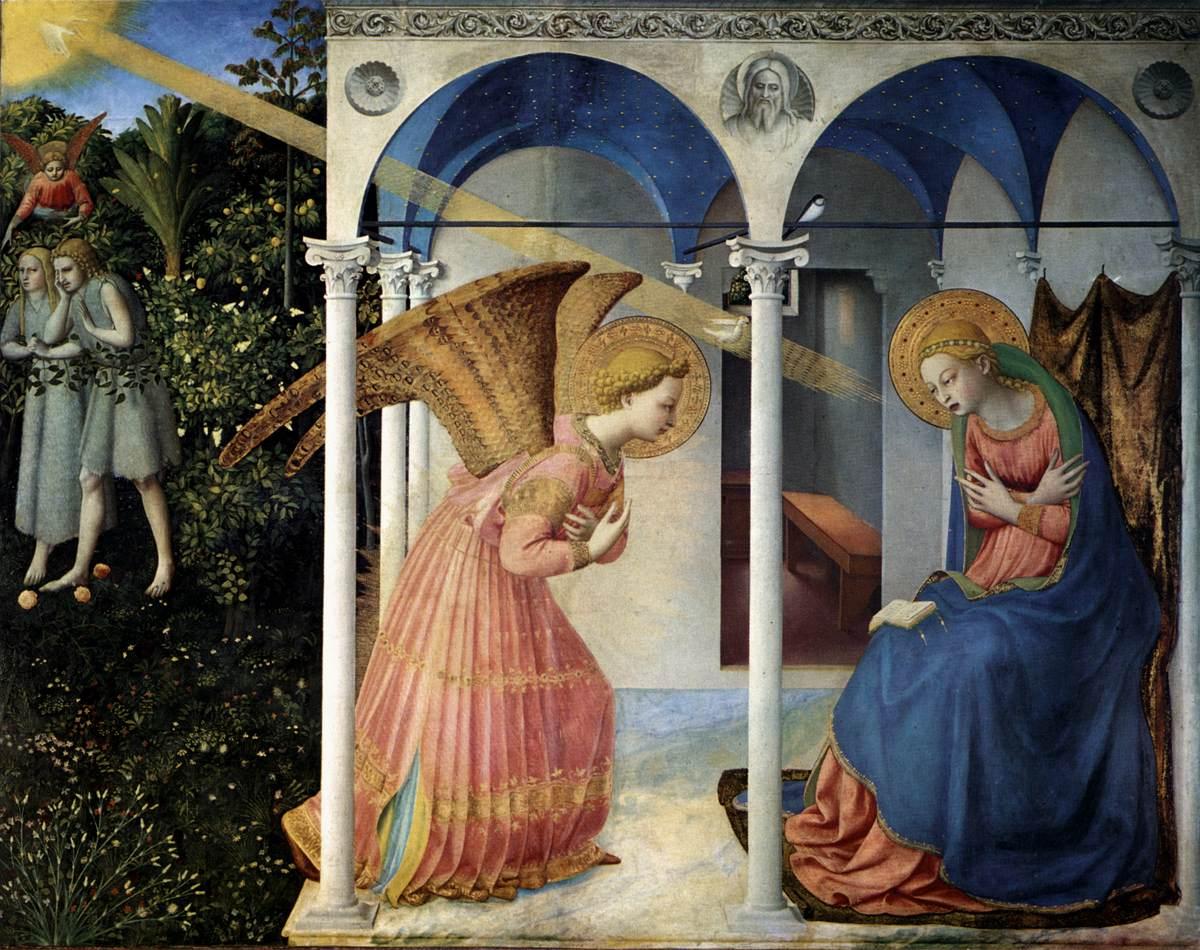Fra Angelico: Zwiastowanie