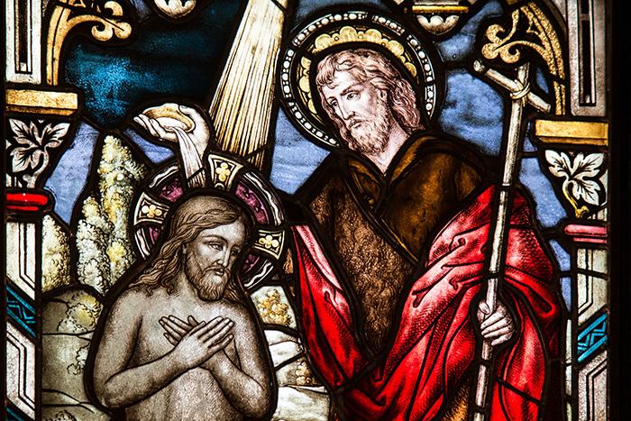 Jezus także przyjął chrzest