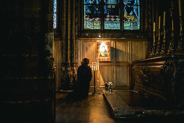 Modlitwa pokornego przeniknie obłoki iniedozna pociechy, zanim nieosiągnie celu
